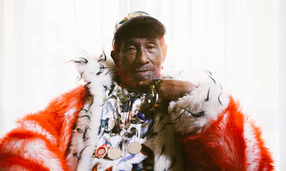 Lee Scratch Perry in 2019.