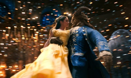 Dan Stevens and Emma Watson in the new live-action adaptation of the Disney animation Beauty and the Beast.