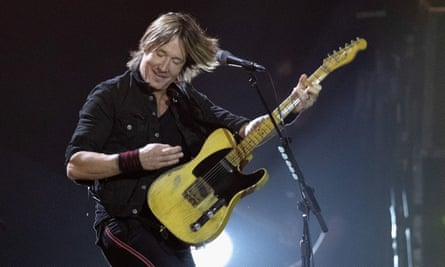 Totally convincing ... Keith Urban performs at C2C.