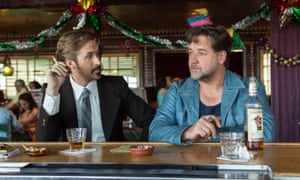 Ryan Gosling and Russell Crowe in The Nice Guys.