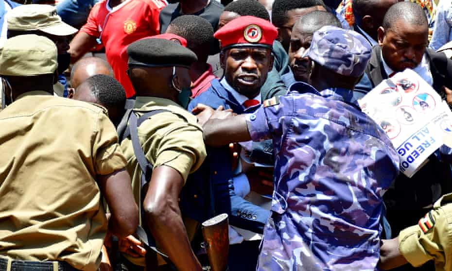 Bobi Wine detained in Kampala