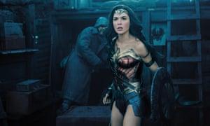 Gal Gadot as Wonder Woman in the 2017 film.
