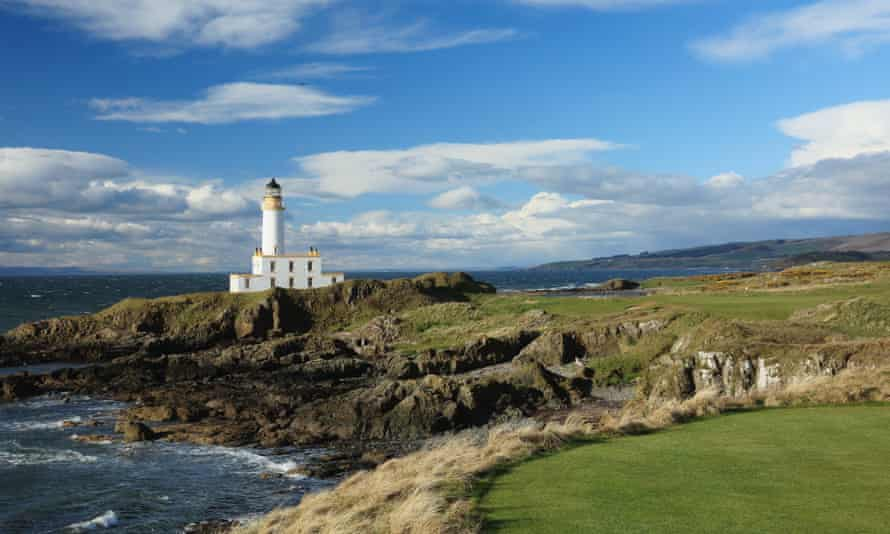 View of the Trump Turnberry resort after the re-design.