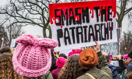 The Women's March in Washington DC