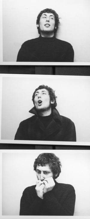 Michael Rosen in the 1960s.