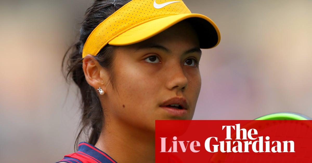 Emma Raducanu v Belinda Bencic: US Open quarter-final – live!