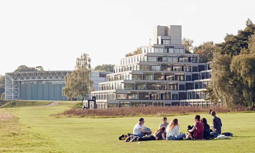 The University of East Anglia campus
