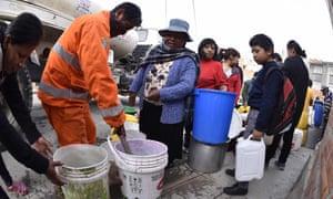 bolivia drought