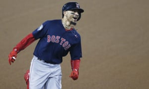 The Red Sox were untroubled on Sunday night as they claimed the championship