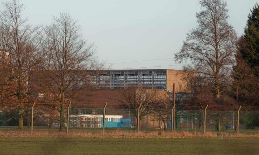 Yarl's Wood immigration detention centre in Bedfordshire