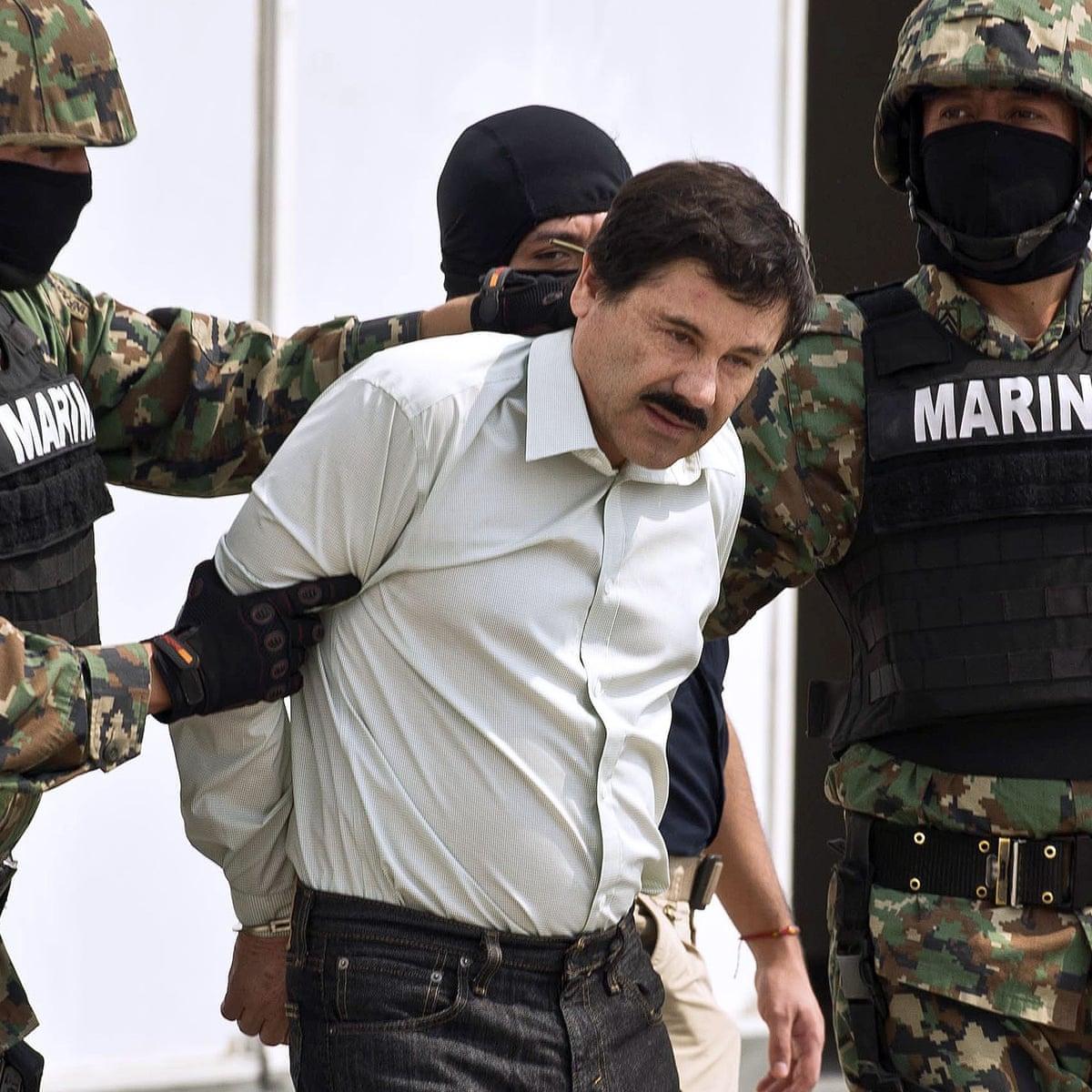 El Chapo: Mexican drug lord sentenced to life in prison | Joaquín 'El Chapo'  Guzmán