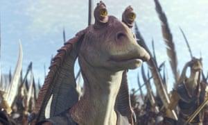 Jar Jar Binks in Star Wars Episode I - The Phantom Menace (1999).
