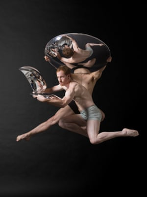 Paul Zivkovich and Craig Bary, 2007. Photo by Lois Greenfield