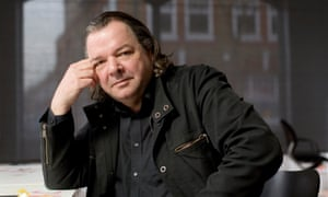 Will Alsop in his south London studio in 2007.
