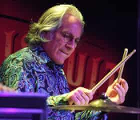 Max Weinberg, drummer for Bruce Springsteen