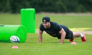 Rugby union training