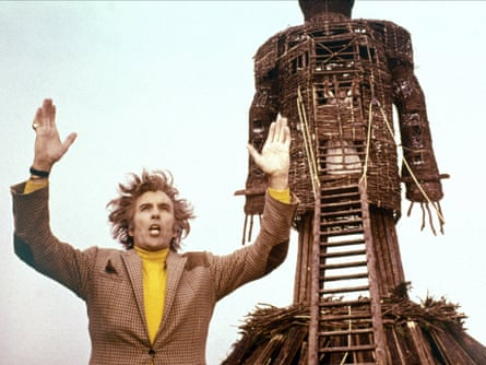 Christopher Lee in the 1973 film The Wicker Man