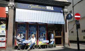 Guillaume Hill, a French-themed betting shop, opened this week in Kensington