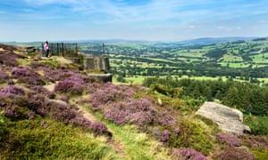 Ilkley Moor West Yorkshire