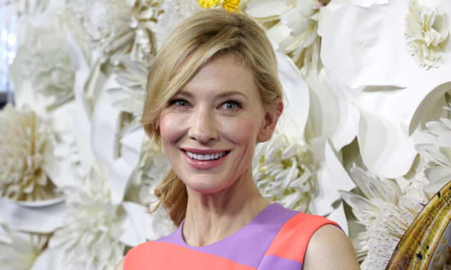 """Actress Cate Blanchett at the Australian premiere of Disney's """"Cinderella"""" at the State Theatre in Sydney, March 15, 2015. (AAP Image/Jane Dempster) NO ARCHIVING"""