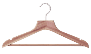 Muji has a great range of hangers that will prolong the life of your clothes
