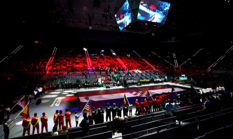 The revamped Davis Cup's opening ceremony failed to capture fans' imagination, taking place in front of sparse crowds.
