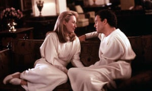 Meryl Streep dan Albert Brooks dalam Mempertahankan Hidup Anda.