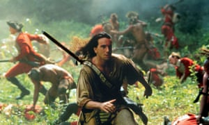 Romantic hero ... The Last of the Mohicans.
