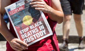 A deaths in custody protest