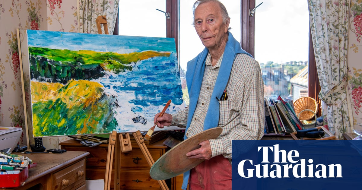 A new start after 60: 'I started sketching at 72 – and graduated with a fine art degree at 96'