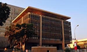 The Bank of Uganda building was built with the country's climate in mind.