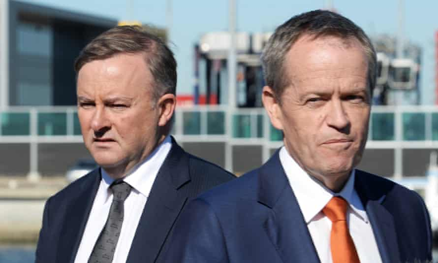 Anthony Albanese and Bill Shorten are two of the many different voices in Labor's attempted Adani pivot.
