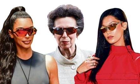 Kim Kardashian, Princess Anne and Bella Hadid