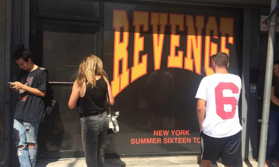 Drake's pop-up store in New York