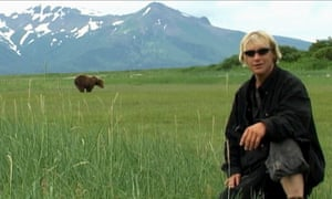 Confessional ... Timothy Treadwell in Werner Herzog's Grizzly Man.