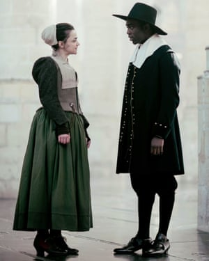 'Just read the script': Hayley Squires as Cornelia in the BBC's Miniaturist, with Paapa Essiedu.
