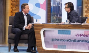 David Cameron on Robert Peston