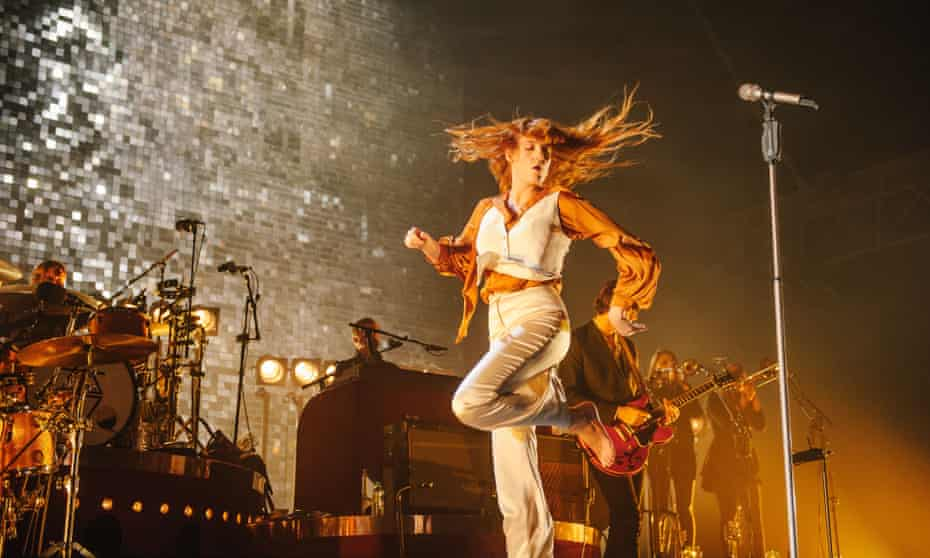 Florence + the Machine in concert in London in September 2015