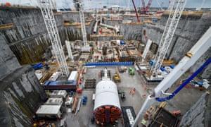 EDF Energy's Hinkley Point C construction site