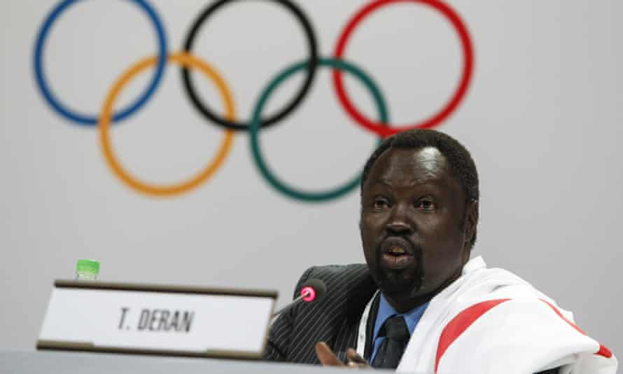 Tong Deran, South Sudan Olympic committee secretary general.
