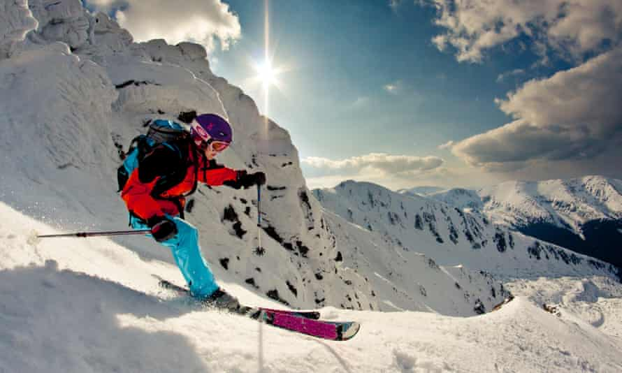 Jasná offers plenty of gentler slopes for beginners, plus 12 off-piste 'freeride zones' for experienced skiers and snowboarders