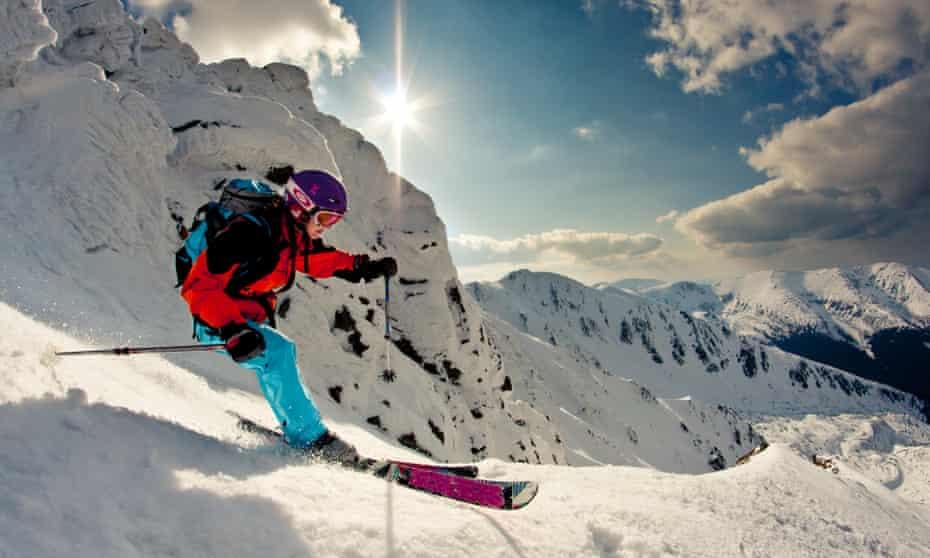 Slovakia freeride Jasna Low Tatras