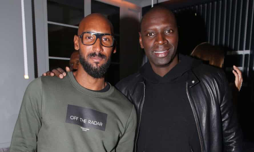 Exclusive - Nicolas Anelka and Omar Sy attending Edern Restaurant Opening Party in Paris, France on September 25, 2018. Photo by ABACAPRESS.COM2DDB79E Exclusive - Nicolas Anelka and Omar Sy attending Edern Restaurant Opening Party in Paris, France on September 25, 2018. Photo by ABACAPRESS.COM