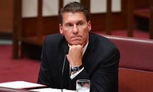 Former Liberal Senator Cory Bernardi in the Senate