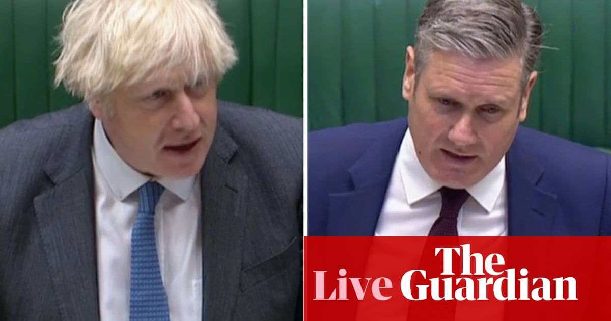 PMQs: Starmer challenges Johnson over record low rate of rape prosecutions – live