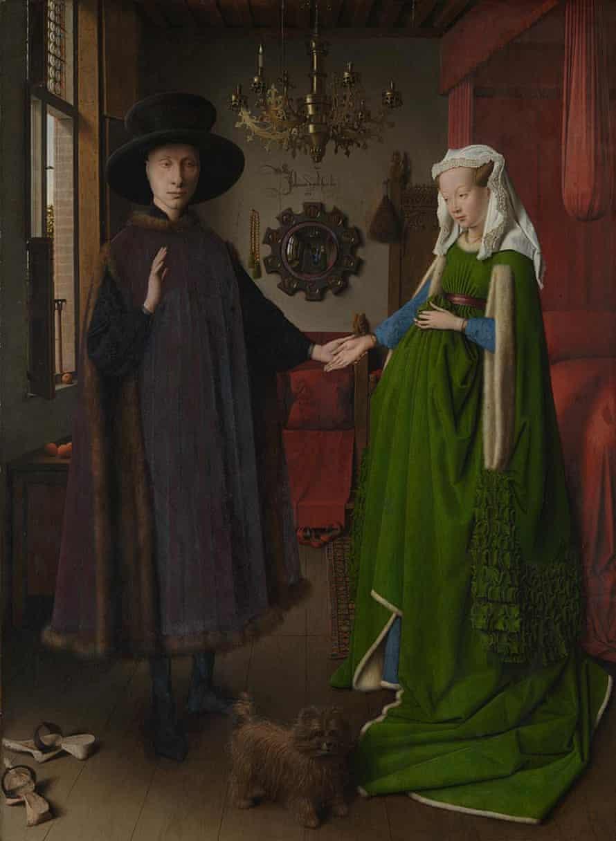 The Arnolfini Portrait in full