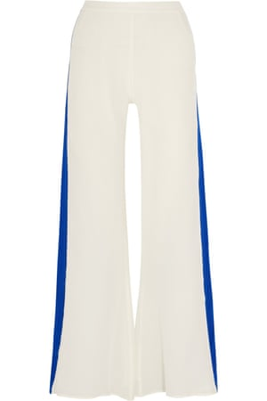 """£340 by Zeus+Dione from <a href=""""http://www. /gb/en/product/649494/ZeusandDione/alcyone-silk-crepe-de-chine-wide-leg-pants""""> </a>"""