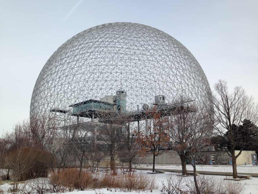 A futuristic US pavilion at Expo 67