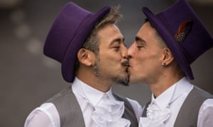 First Gay Civil Union Celebration In Rome