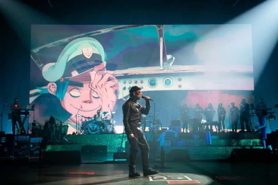 Damon Albarn front's Song Machine Live.